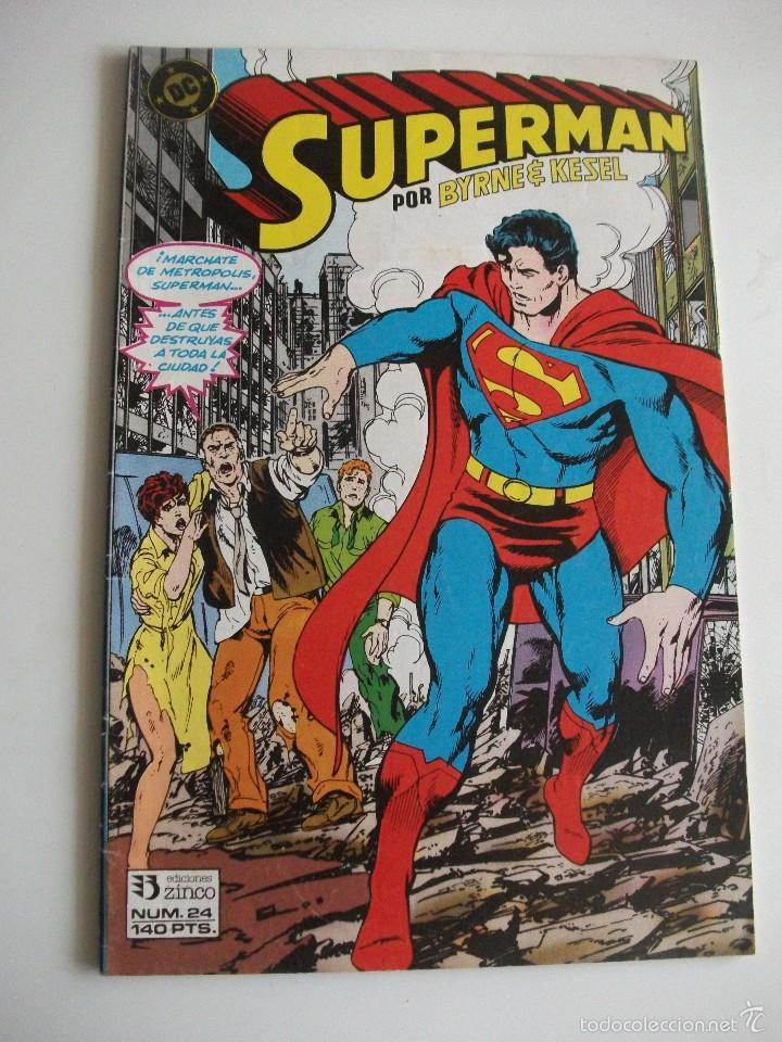 SEPERMAN Nº24 ZINCO C7A (Tebeos y Comics - Zinco - Superman)