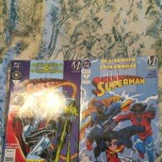 Cómics: MUNDOS EN COLISIÓN. SUPERMAN Nº 1 Y 2 VID EDITORIAL. Lote 60424827