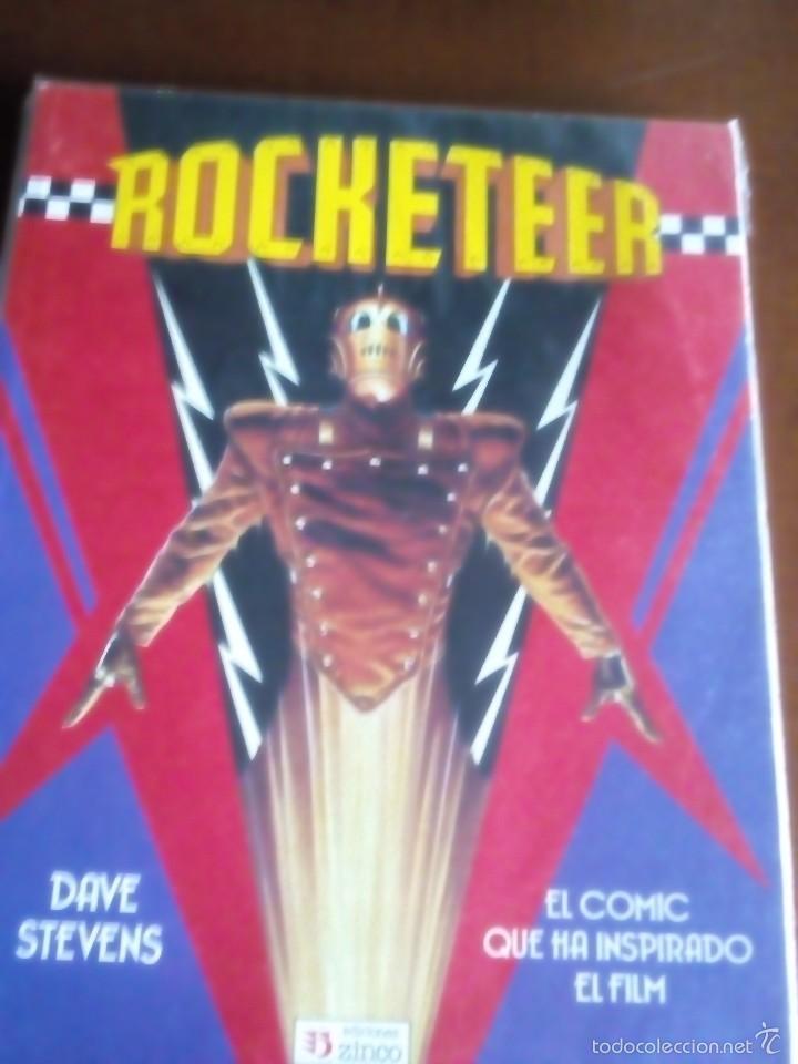 ROCKETEER TOMO (Tebeos y Comics - Zinco - Prestiges y Tomos)