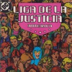 Cómics: LIGA DE LA JUSTICIA AMERICA Nº 23 - DC ZINCO. Lote 60611375