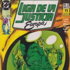 Cómics: LIGA DE LA JUSTICIA EUROPA Nº 13 - DC ZINCO. Lote 60611667