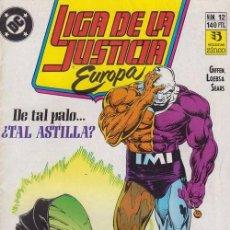 Cómics: LIGA DE LA JUSTICIA EUROPA Nº 12 - DC ZINCO. Lote 60611715