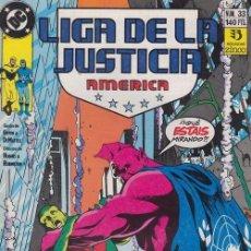 Cómics: LIGA DE LA JUSTICIA AMERICA Nº 33 - DC ZINCO. Lote 60611839