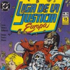 Cómics: LIGA DE LA JUSTICIA EUROPA Nº 10 - DC ZINCO. Lote 60612139