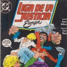 Cómics: LIGA DE LA JUSTICIA EUROPA Nº 5 - DC ZINCO. Lote 60612243