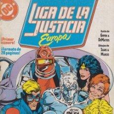 Cómics: LIGA DE LA JUSTICIA EUROPA Nº 1 - DC ZINCO. Lote 60612567