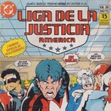 Cómics: LIGA DE LA JUSTICIA AMERICA Nº 36 - DC ZINCO. Lote 60612819