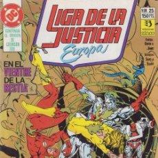 Cómics: LIGA DE LA JUSTICIA EUROPA Nº 25 - DC ZINCO. Lote 60613111