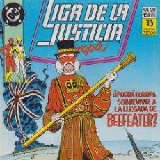 Cómics: LIGA DE LA JUSTICIA EUROPA Nº 20 - DC ZINCO. Lote 60613175