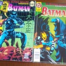 Cómics: BATMAN LIBRO 1 Y 2 EL ULTIMO DESAFIO. Lote 60770635