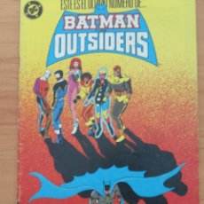 Cómics: BATMAN OUTSIDERS Nº 24 DC / ZINCO. Lote 64891514