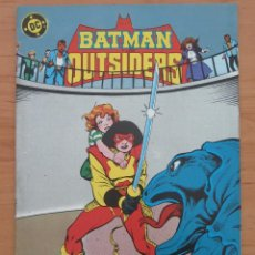 Cómics: BATMAN OUTSIDERS Nº 18 DC / ZINCO. Lote 60807347