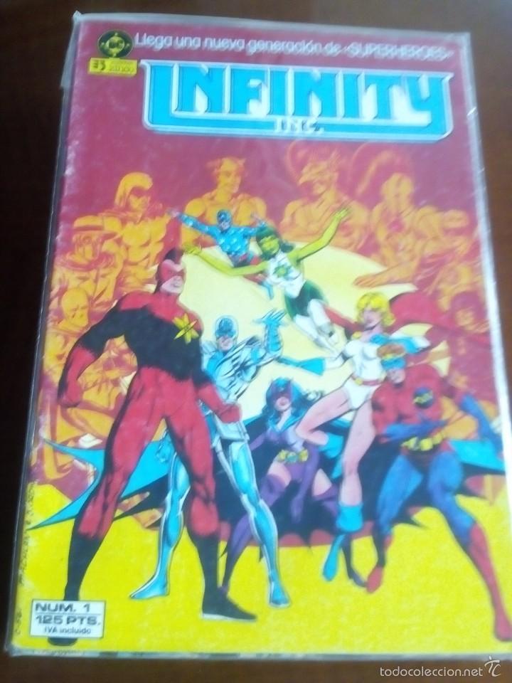 INFINITY N-1 (Tebeos y Comics - Zinco - Infinity Inc)