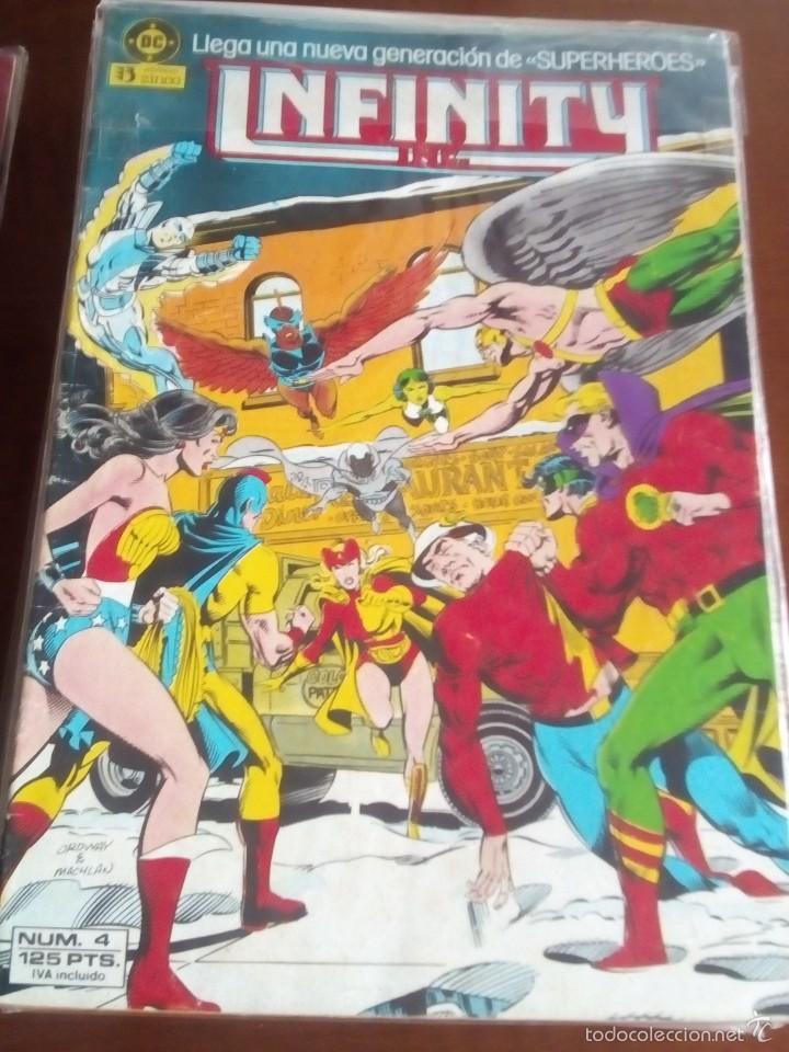 INFINITY N-4 (Tebeos y Comics - Zinco - Infinity Inc)