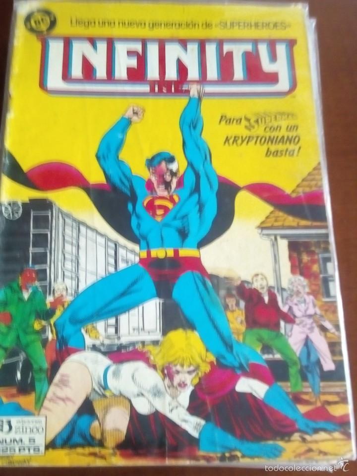 INFINITY N-5 (Tebeos y Comics - Zinco - Infinity Inc)