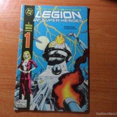 Comics: LEGIÓN DE SUPER-HEROES Nº 1 PROYECTO UNIVERSO EDICIONES ZINCO. DC COMICS . Lote 61013431