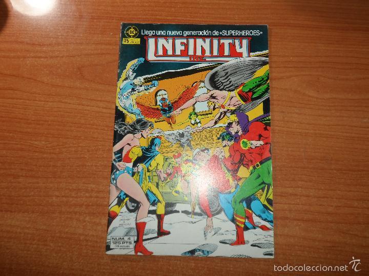 INFINITY INC Nº 4 EDICIONES ZINCO DC COMICS (Tebeos y Comics - Zinco - Infinity Inc)