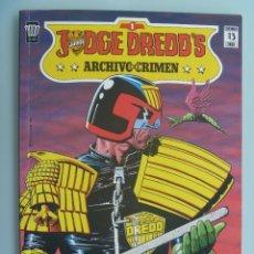 Cómics: JUDGE DREDD´S , ARCHIVO DEL CRIMEN , Nº 1 .. Lote 61040839