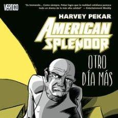 Cómics: AMERICAN SPLENDOR: OTRO DIA MÁS: HARVEY PEKAR CON VARIOS DIBUJANTES: CORBEN, ETC.. Lote 61089763
