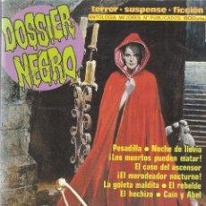 Cómics: DOSSIER NEGRO - RETAPADO ANTOLOGÍA MEJORES Nº PUBLICADOS 216,217,208,185- EDT. ZINCO, 1970. Lote 61229327