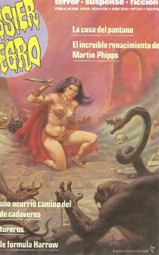 Cómics: DOSSIER NEGRO - RETAPADO ANTOLOGÍA MEJORES Nº PUBLICADOS 216,217,208,185- EDT. ZINCO, 1970 - Foto 3 - 61229327