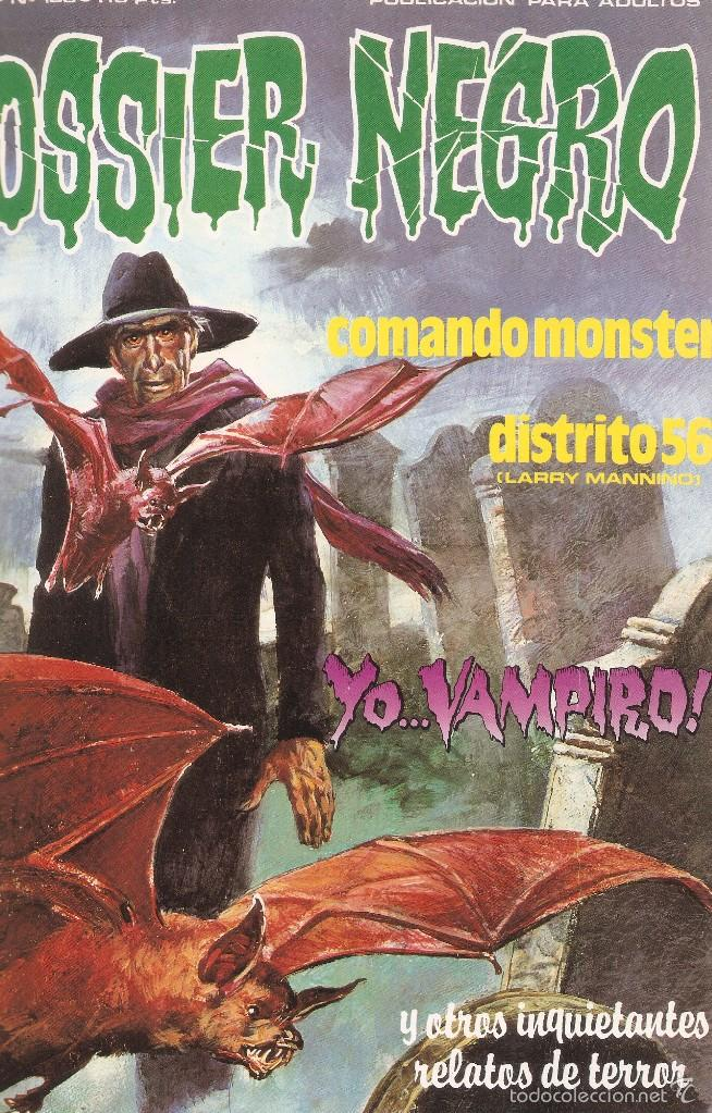 Cómics: DOSSIER NEGRO - RETAPADO ANTOLOGÍA MEJORES Nº PUBLICADOS 216,217,208,185- EDT. ZINCO, 1970 - Foto 4 - 61229327
