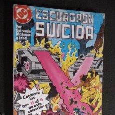 Cómics: ESCUADRÓN SUICIDA. RETAPADO Nº 13 AL 15. DC ZINCO.. Lote 61297211