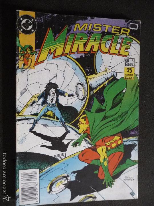 MISTER MIRACLE. Nº 3. DC ZINCO (Tebeos y Comics - Zinco - Otros)