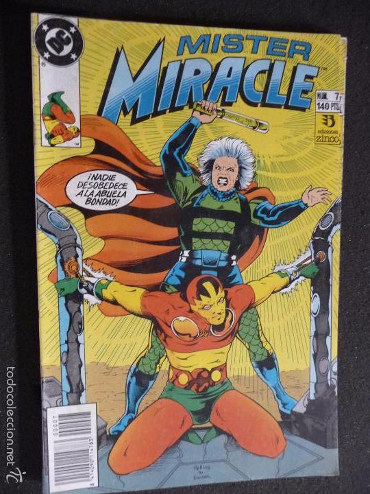 MISTER MIRACLE. Nº 7. DC ZINCO (Tebeos y Comics - Zinco - Otros)