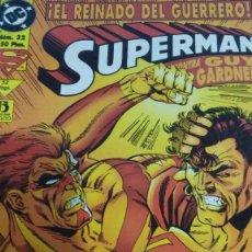 Cómics: SUPERMAN: EL REINADO DEL GUERRERO. Lote 61329495