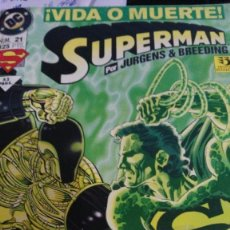 Cómics: SUPERMAN ¡VIDA O MUERTE! Nº 21 EDITORIAL ZINCO 52 PAGS.. Lote 61329623