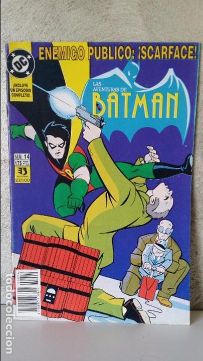 LAS AVENTURAS DE BATMAN NÚMERO 14 (Tebeos y Comics - Zinco - Batman)