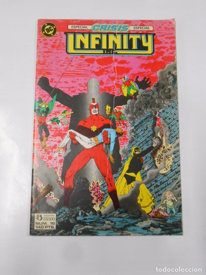 INFINITY INC. - ESPECIAL CRISIS - Nº 16 - DC COMICS. EDICIONES ZINCO. TDKC18 (Tebeos y Comics - Zinco - Infinity Inc)