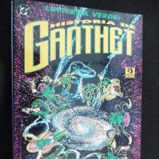 Cómics: LINTERNA VERDE. HISTORIA DE GANTHET. ZINCO. Lote 70532313