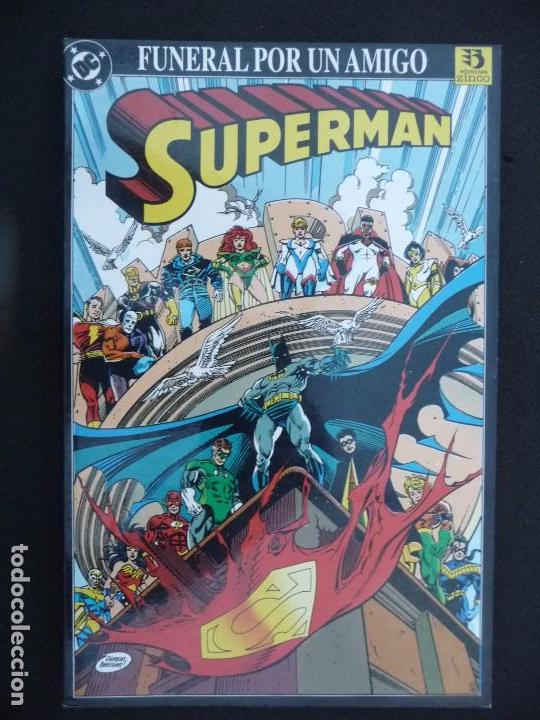 SUPERMAN. FUNERAL POR UN AMIGO. ZINCO. (Tebeos y Comics - Zinco - Superman)
