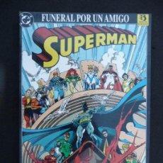 Cómics: SUPERMAN. FUNERAL POR UN AMIGO. ZINCO.. Lote 70533247