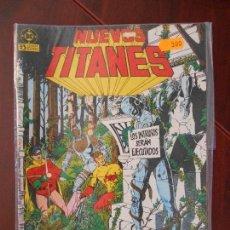 Cómics: NUEVOS TITANES - Nº 13 - ZINCO - DC (B3). Lote 64195035