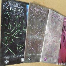 Cómics: ORQUIDEA NEGRA COMPLETA 3 PRESTIGIOS - ZINCO . Lote 61800268