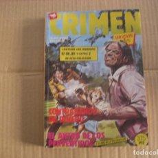Comics: CRIMEN, RETAPADO, NÚMEROS 87 AL 89 Y EXTRA Nº 2, EDITORIAL ZINCO. Lote 62064392