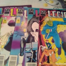Cómics: LEGION 91 . CINCO PRIMEROS NÚMEROS. PERFECTO ESTADO.. Lote 63128600