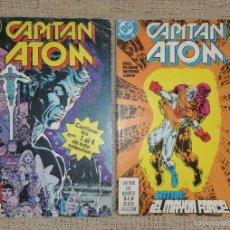 Cómics: CAPITAN ATOM (COMICS ZINCO DC) LOTE DE 2 RETAPADOS NÚMEROS 1 AL 8. Lote 63324664