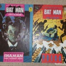 Cómics: LEYENDAS DE BATMAN (EDICIONES ZINCO) Nº 3 Y 14 (DC CÓMICS). Lote 63326116