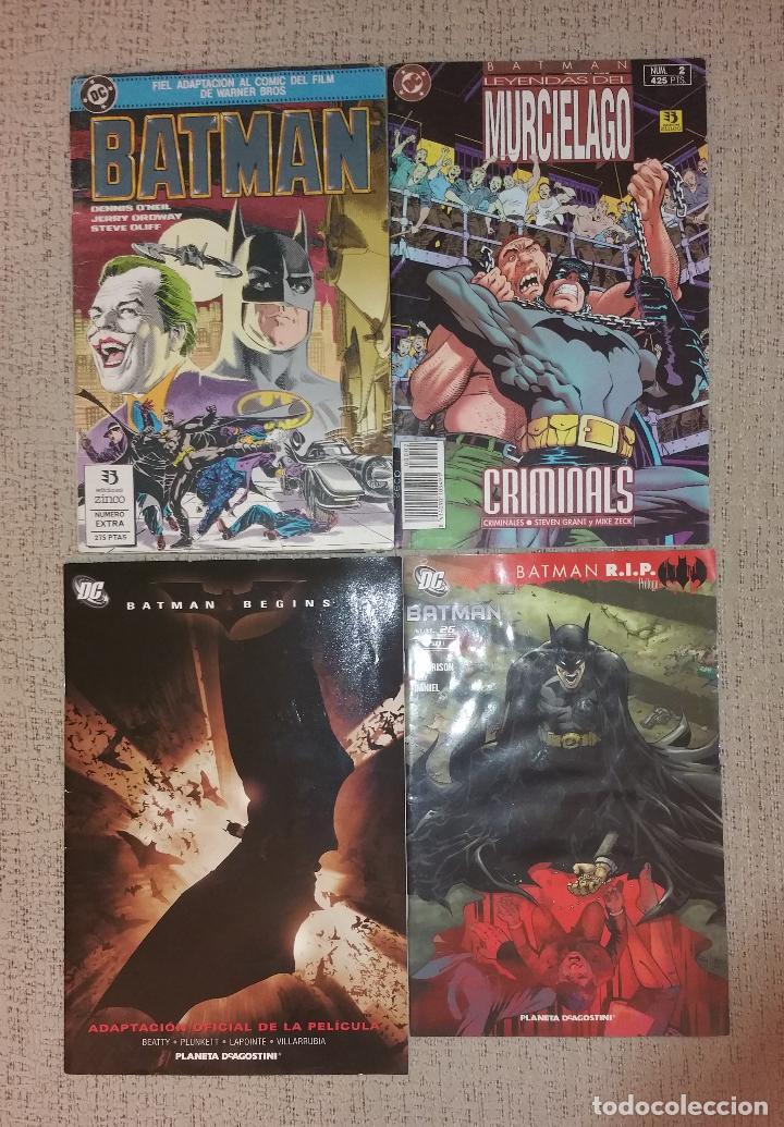 LOTE DE CÓMICS DE BATMAN (EDICIONES ZINCO PLANETA) ADAPTACIÓN PELÍCULA DC (Tebeos y Comics - Zinco - Batman)