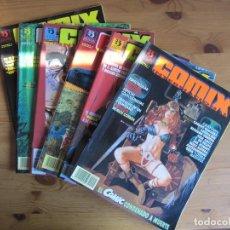 Cómics: COMIX INTERNACIONAL Nº 1 A 6. Lote 63402576