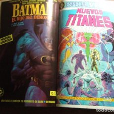 Cómics: LEGENDS, NUEVOS TITANES Y LEGION DE SUPERHEROES DE DC ZINCO EN UN TOMO 13 COMICS. Lote 64052427