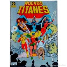 Cómics: NUEVOS TITANES VOL 1 Nº 1 / DC / ZINCO 1984 ( MARV WOLFMAN & GEORGE PEREZ ). Lote 55898878
