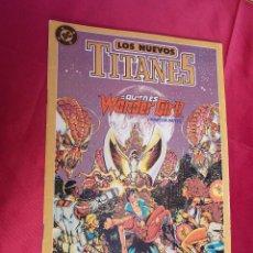 Comics : LOS NUEVOS TITANES. Nº 10. EDICIONES ZINCO.. Lote 64183779