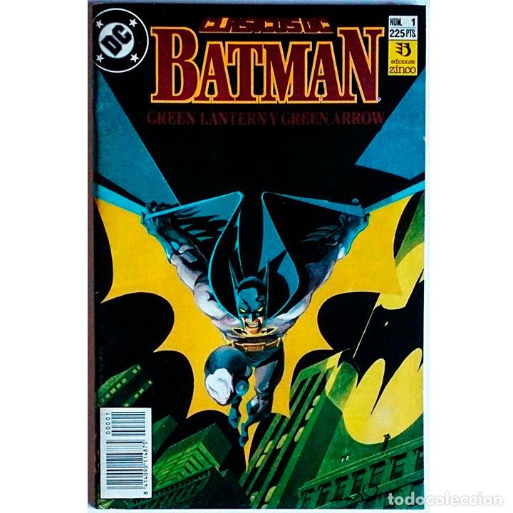 CLÁSICOS DC / BATMAN GREEN LANTERN Y GREEN ARROW Nº 1 / DC / ZINCO 1990 ( S.ENGLEHART & W.SIMONSON ) (Tebeos y Comics - Zinco - Batman)