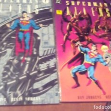Cómics: SUPERMAN ALIENS LIBRO 1 Y 2. Lote 64313067
