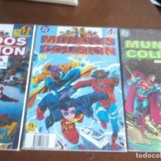 Cómics: MUNDOS EN COLISION 3 TOMOS COMPLETA L2P4. Lote 64337007